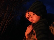 Mesmerized by one of our many fall bonfires.
