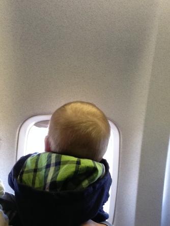 Wilf's first plane ride